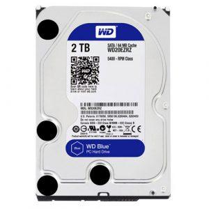 WD Blue 2TB Desktop Hard Disk Drive - 7200 RPM SATA 6Gb/S 64MB Cache 3.5 Inch