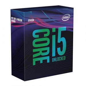 Intel Core I5-9600K Processor 9M Cache, Up To 4.60 GHz