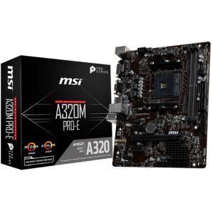 MSI A320M Gaming PRO AM4 AMDMotherboard
