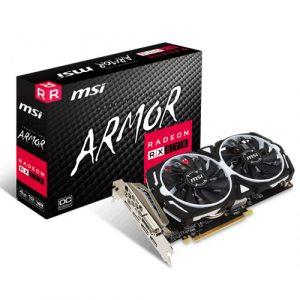 MSI Radeon RX 570 ARMOR 4GB OC 256-Bit GDDR5 GRAPHICS CARD