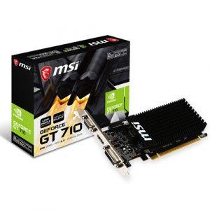 MSI Gaming GeForce GT 710 2GB GDRR3 64-bit Low Profile Graphics Card