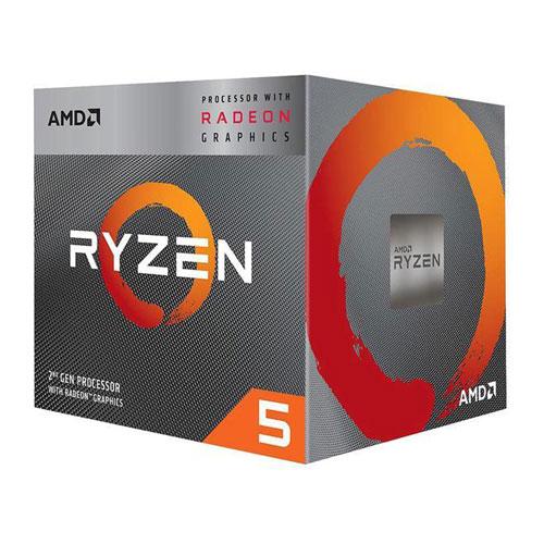 AMD Ryzen 5 3400g Desktop Processors With Wraith Spire Cooler