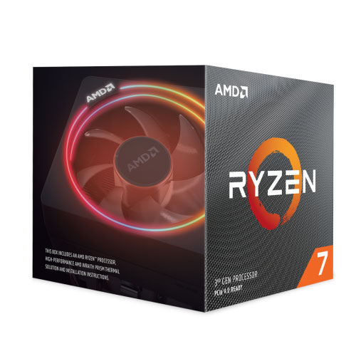 AMD Ryzen 7 3800X Desktop Processors With Wraith Prism Cooler