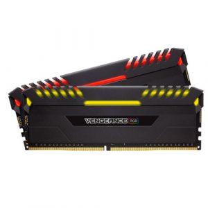 CORSAIR VENGEANCE RGB 32GB (2 X 16GB) DDR4 DRAM 2666MHZ MEMORY KIT