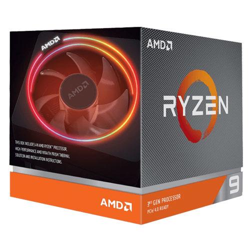 AMD RYZEN 9 3900X Desktop Processors With Wraith Prism Cooler