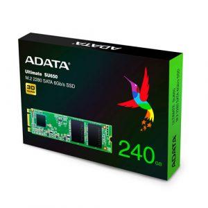 Adata Ultimate SU650 240GB M.2 2280 SATA 6GB/S SSD