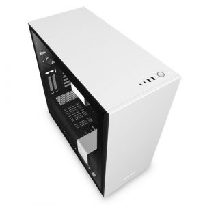 NZXT H710i Mid Tower White And Black Case