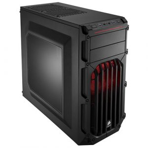 Corsair Carbide Series SPEC 03 Red LED Mid Tower Gaming Case