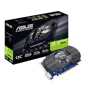 Asus GeForce GT 1030 OC edition 2GB GDDR5 Graphics Card