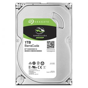Seagate Desktop HDD BarraCuda ST1000DM010 1TB 64MB Cache SATA 6.0Gb/s 3.5