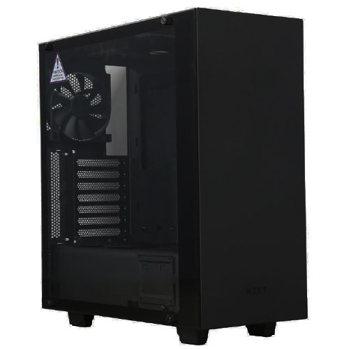 NZXT S340 Elite Matt Black Mid Tower Gaming Case