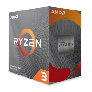 AMD Ryzen 3 3100 (8 Thread's, 4 Cores, Up-To 3.9GHz) Desktop Processor with Wraith Stealth Cooler