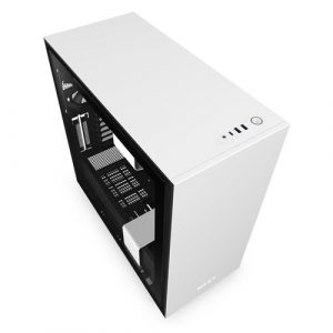 NZXT H710 Mid Tower White and Black Case
