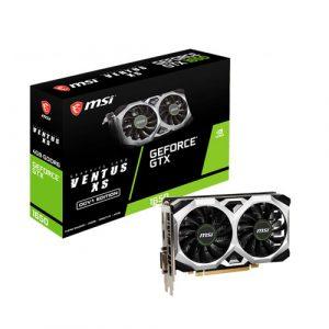 MSI GeForce GTX 1650 D6 Ventus XS OCV1 4GB GDDR6 Graphics Card