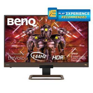 """BENQ EX2780Q 27"""" Inch, 2K 144Hz IPS Level QHD Gaming Monitor"""