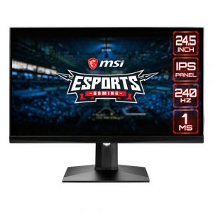 "MSI Optix MAG251RX 24.5"" inch 240Hz IPS Level Ultra Slim Frameless Gaming Monitor"