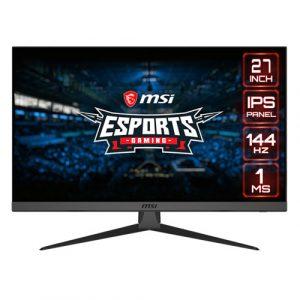 """MSI Optix G272 27"""" Inch 144Hz 1ms IPS Level Ultra Slim Frameless Gaming Monitor"""