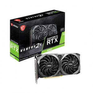 MSI GeForce RTX 3060 Ventus 2X OC 12GB GDDR6 Graphics Card - (NOT SOLD SEPARATELY)