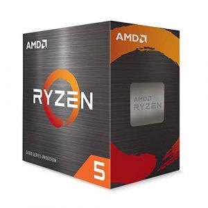 AMD Ryzen 5 5600X 6 Cores, 12 Threads, Up To 4.6GHz Desktop Processor