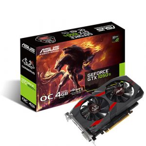 Asus Cerberus Geforce GTX 1050TI Oc 4gb GddR5