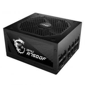MSI MPG A750GF – 750 WATT 80 Plus Gold Certified Fully Modular Power Supply