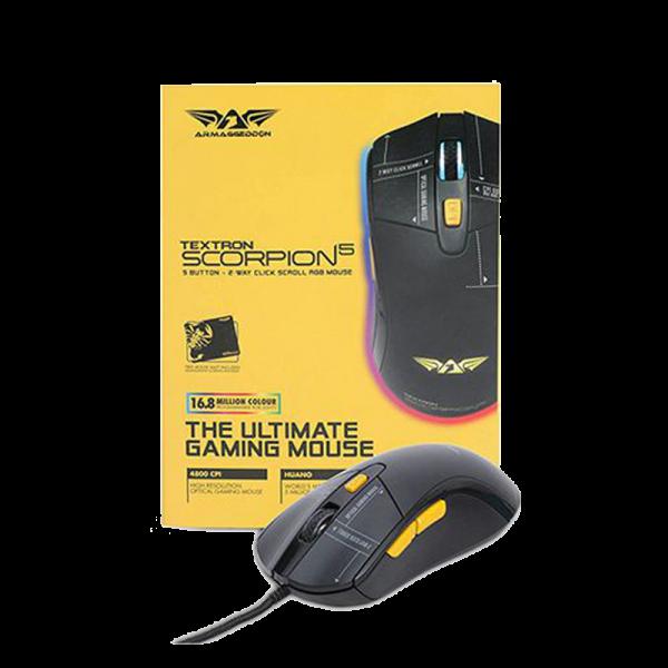 Armaggeddon Scorpion 5 Gaming mouse 03