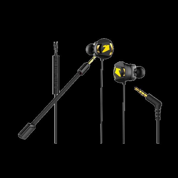 Armaggeddon WASP 5 Dual Microphone Gaming Earphone 02
