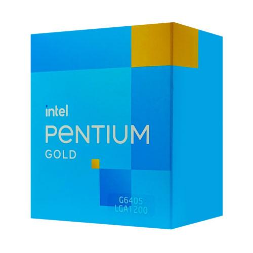 Intel Pentium Gold G6405 4M Cache, 4.10 GHZ (4 Threads, 2 Cores) Desktop Processor