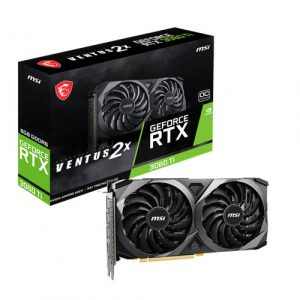 MSI GeForce RTX 3060 Ti Ventus 2X OCV1 8GB LHR GDDR6 Graphics Card - (NOT FOR MINING PURPOSE)