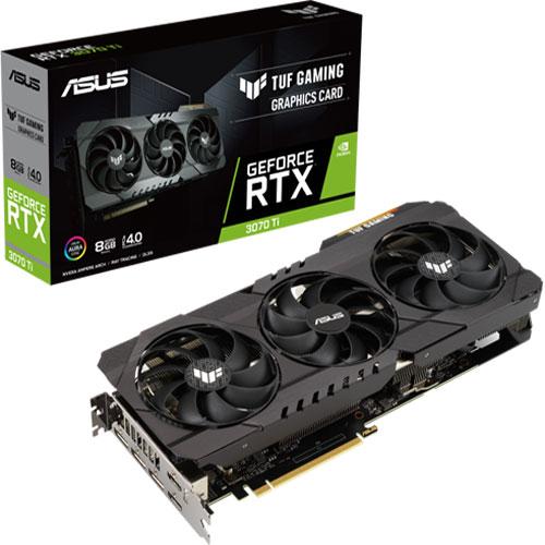 TUF Gaming Geforce RTX 3070 Ti OC Edition 8GB GDDR6X