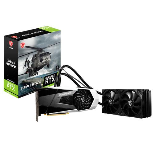 MSI GeForce RTX 3080 Sea Hawk X 10GB LHR GDDR6X Graphics Card – (NOT FOR MINING PURPOSE)