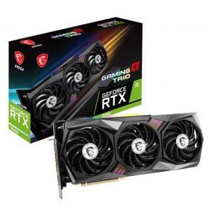 MSI GeForce RTX 3060 Gaming X Trio 12GB GDDR6 Graphics Card
