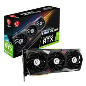 MSI GeForce RTX 3070 Gaming Trio Plus 8GB LHR GDDR6 Graphics Card - (NOT FOR MINING PURPOSE)
