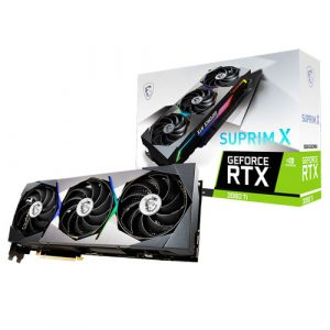 MSI GeForce RTX 3080 Ti Suprim X 12GB GDDR6X Graphics Card