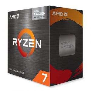AMD Ryzen 7 5700G (8 Cores, 16 Threads) Up To 4.6 GHz Desktop Processor with Wraith Stealth Cooler