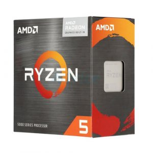 AMD Ryzen 5 5600G (6 Cores, 12 Threads) Up To 4.4 GHz Desktop Processor with Wraith Stealth Cooler